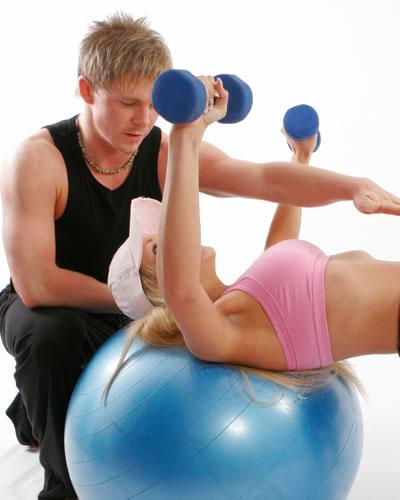 opnå vægttab med personlig træner